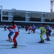 Президентские игры. Челябинск .2014 г лыжные гонки